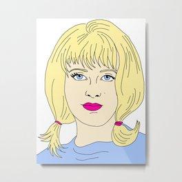 Pastel Pauline Metal Print