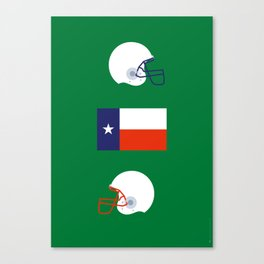 Iconic TV Shows: Friday Night Lights Canvas Print