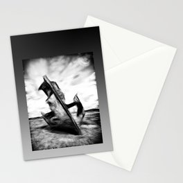 Ghostly Wreck Stationery Cards
