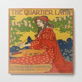 Latin Quarter Metal Print