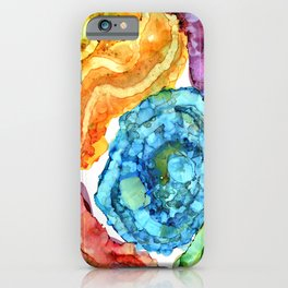 Agate Slices and Geodes iPhone Case