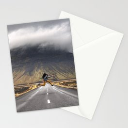You Make the Path by Walking Stationery Cards