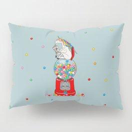 Unicorn Gumball Poop Pillow Sham