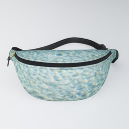 Poolside   Blue turquoise poolwater in the sun   Summer fine art photography print Fanny Pack