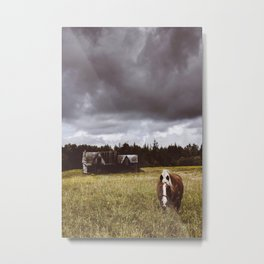 -The Mysterious Stop- Metal Print