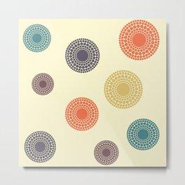 Circles - 7 Metal Print