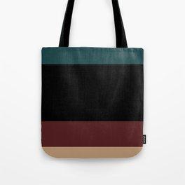 Contemporary Color Block XII Tote Bag