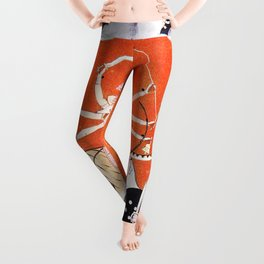 Hindu Durga 4 Leggings