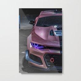 Car Wallpaper Metal Print
