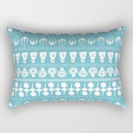 Cycladic Pattern Rectangular Pillow
