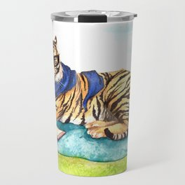 Curled up with a Good Book Travel Mug