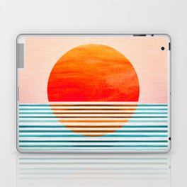 Minimalist Sunset III Laptop & iPad Skin