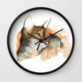 cat#10 Wall Clock