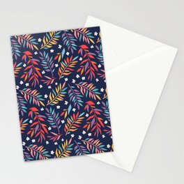 Cute floral bright pattern Stationery Cards