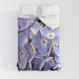 Blue Hydrangea Comforters