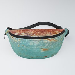 Teal Rust Fanny Pack