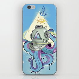 Lost at the Helm iPhone Skin