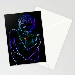 Language of the heart Stationery Cards