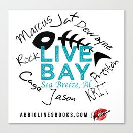 Live Bay Sea Breeze, AL Canvas Print