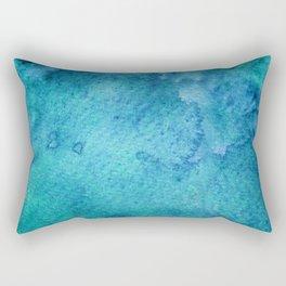 Abstract Watercolour Rectangular Pillow