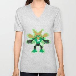 Green Lantern Alakazam Unisex V-Neck