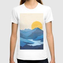 Minimalistic Landscape 10   T-shirt