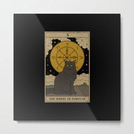The Wheel of Fortune Metal Print