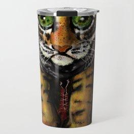 Sad Baby Tiger Travel Mug