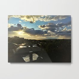 Sun Shower in Portland, Maine (4) Metal Print