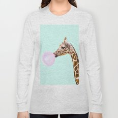GIRAFFE Long Sleeve T-shirt