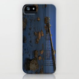 Dusk at Llandudno Pier iPhone Case