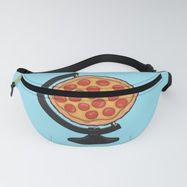 Pizza Makes the World Go Round Fanny Pack