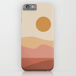Geometric Landscape 23A iPhone Case