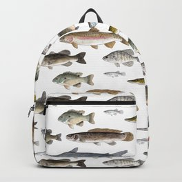 A Few Freshwater Fish Backpack