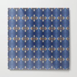 BlueDiamonds Metal Print