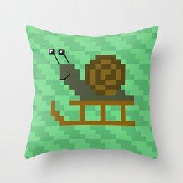snale Throw Pillow