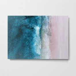 Blue Sea III Metal Print