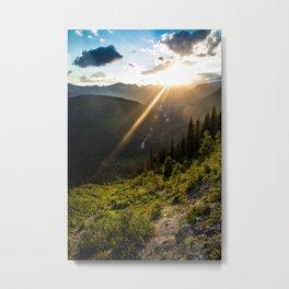 Glacier National Park: Upper McDonald Creek Metal Print