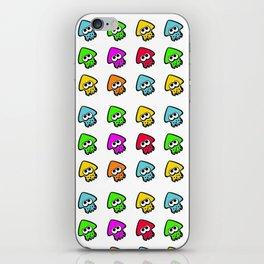 splatoon cute pattern iPhone Skin