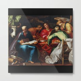 Abraham Bloemaert - The Four Evangelists (1612) Metal Print