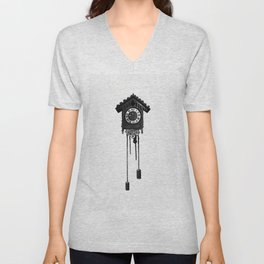 Cuckoo clock from Flowers I Bring And Songs I Sing Poems By E Bland H M Burnside A Scanes Unisex V-Neck