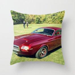 Rare 1963 Original Mustang Concept Throw Pillow