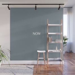 LEAD Gray solid color NOW Wall Mural
