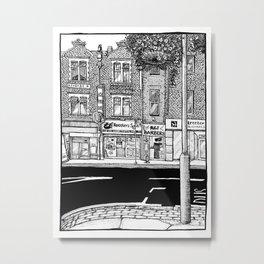 Croydon Streetscape Metal Print