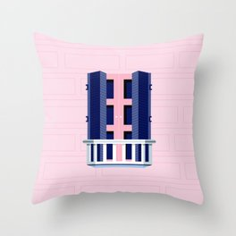 Window of Andalucia | 4 Throw Pillow