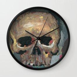 SKULL_AUG2015 Wall Clock