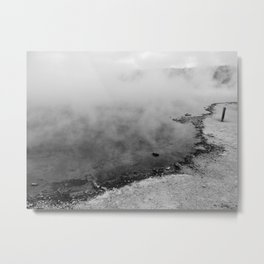 The Geyser Edge Metal Print