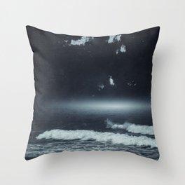Horizon Glow Throw Pillow