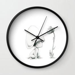 Mushie Friend Wall Clock