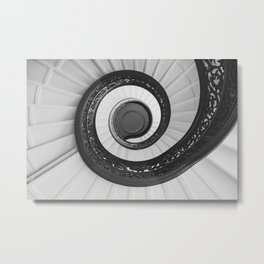Spiraled Metal Print